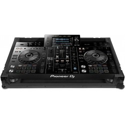 B-STOCK U91051BL2 - UDG Ultimate Flight Case Pioneer XDJ-RX2 Black MK2 Plus (Wheels)