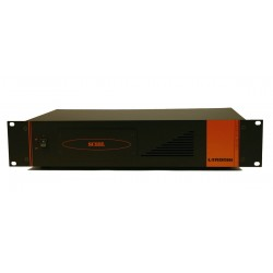120 RECORD CASE TROLLEY NEGRA